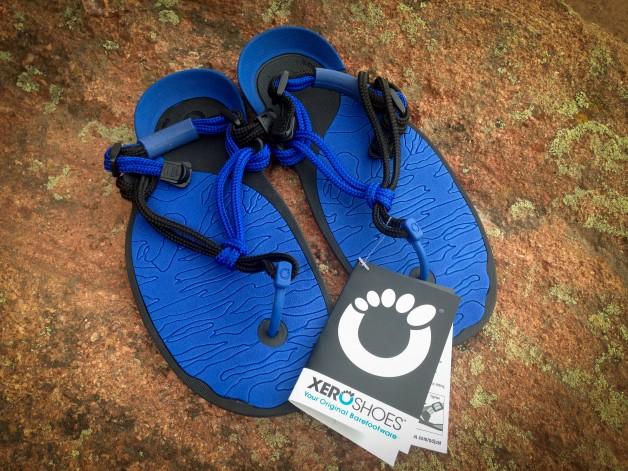 New Amuri Cloud running sandals.