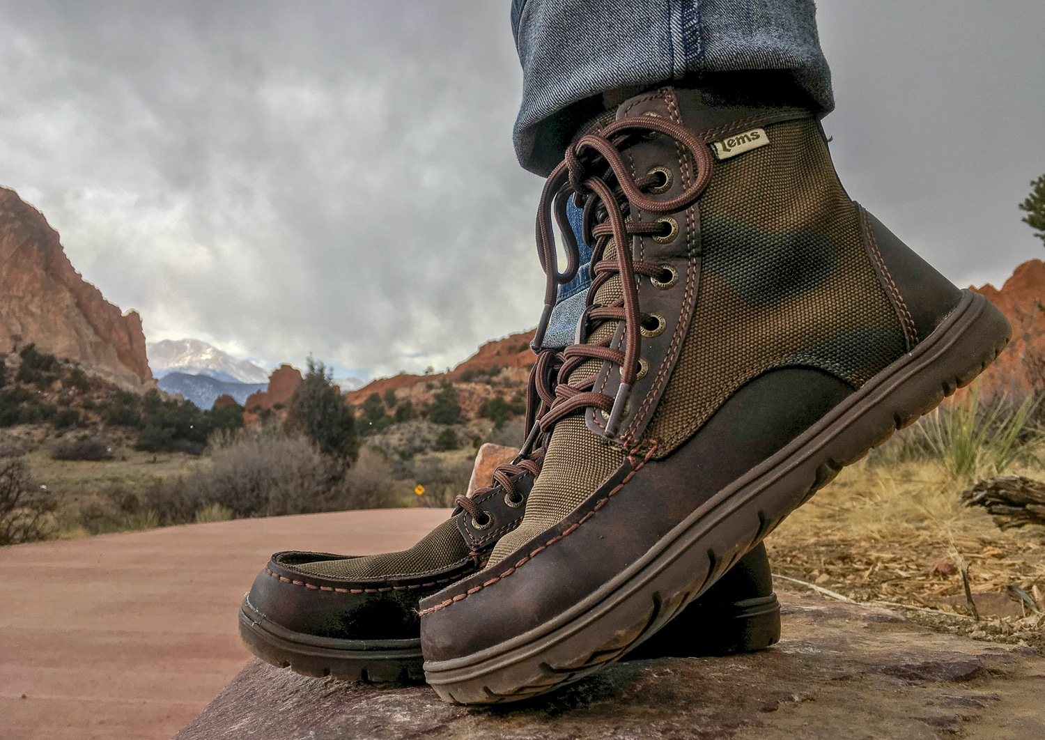 Lems Boulder Boot at Garden of the Gods