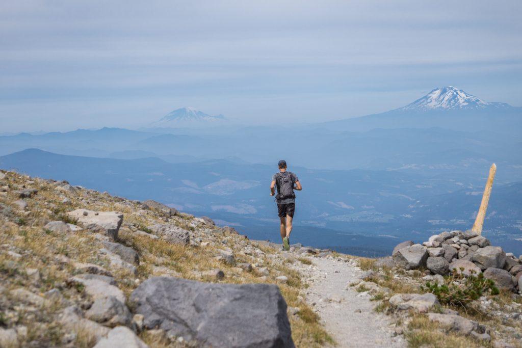 Running Mt. Hood